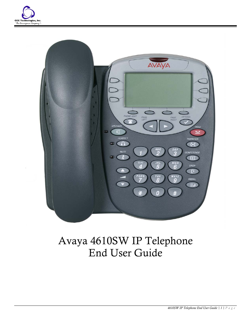 Avaya 4610sw User Manual 24 Pages