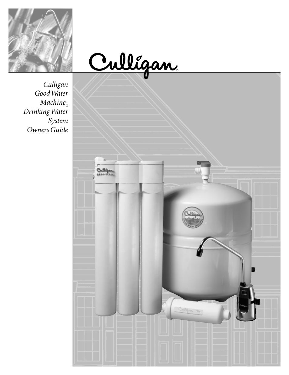 culligan water machine