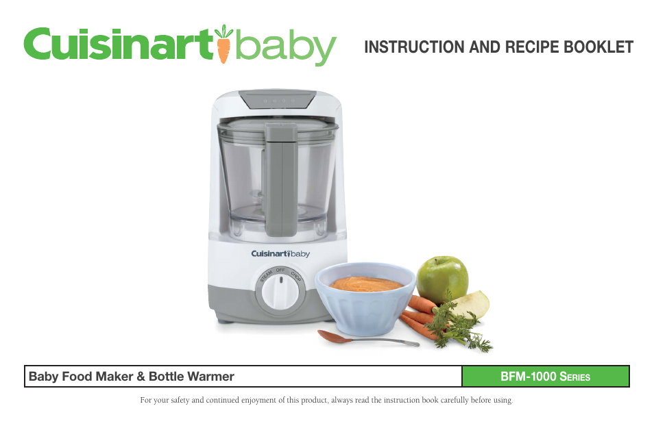 Cuisinart baby food maker bottle warmer bfm 1000 user manual 21 cuisinart baby food maker bottle warmer bfm 1000 user manual 21 pages forumfinder Image collections