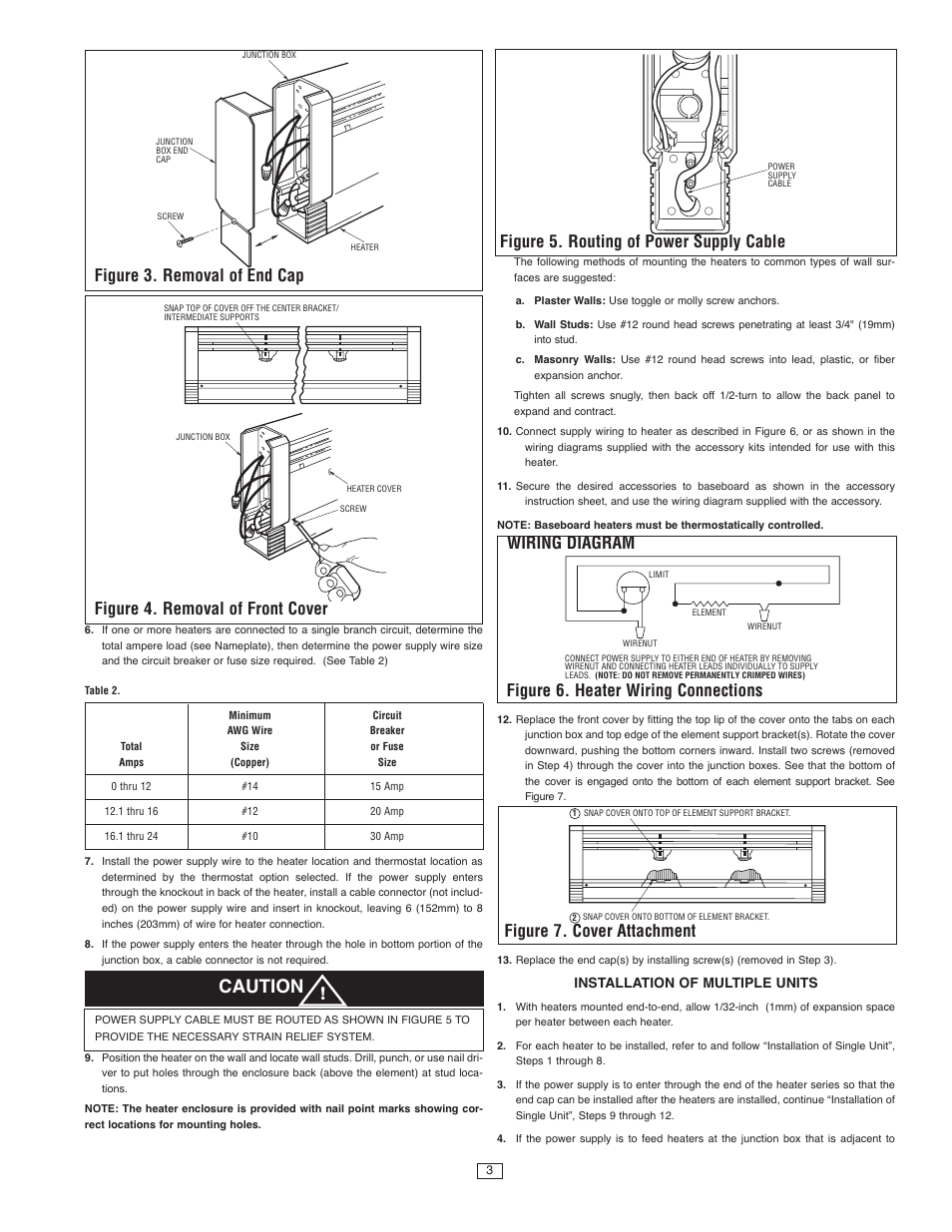 space heater wiring diagram caution  figure 4 removal of front cover  figure 3 removal of baldor space heater wiring diagram figure 4 removal of front cover