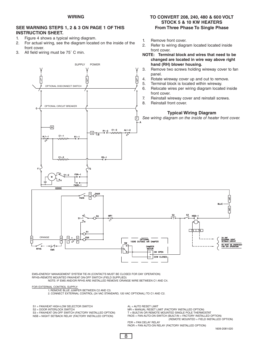qmark-cus900-stock-cabinet-unit-heater-page8  Phase Wiring Diagram Heater on watlow immersion, raypak pool, dayton gas, for p3lbx12f08001, aerothermes gas unit, graphical electric, atwood hot water, for hz514, chromalox immersion,