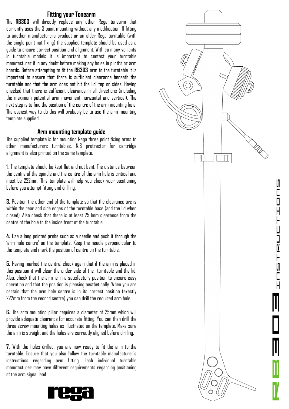 Rega rb303 user manual page 2 2 maxwellsz