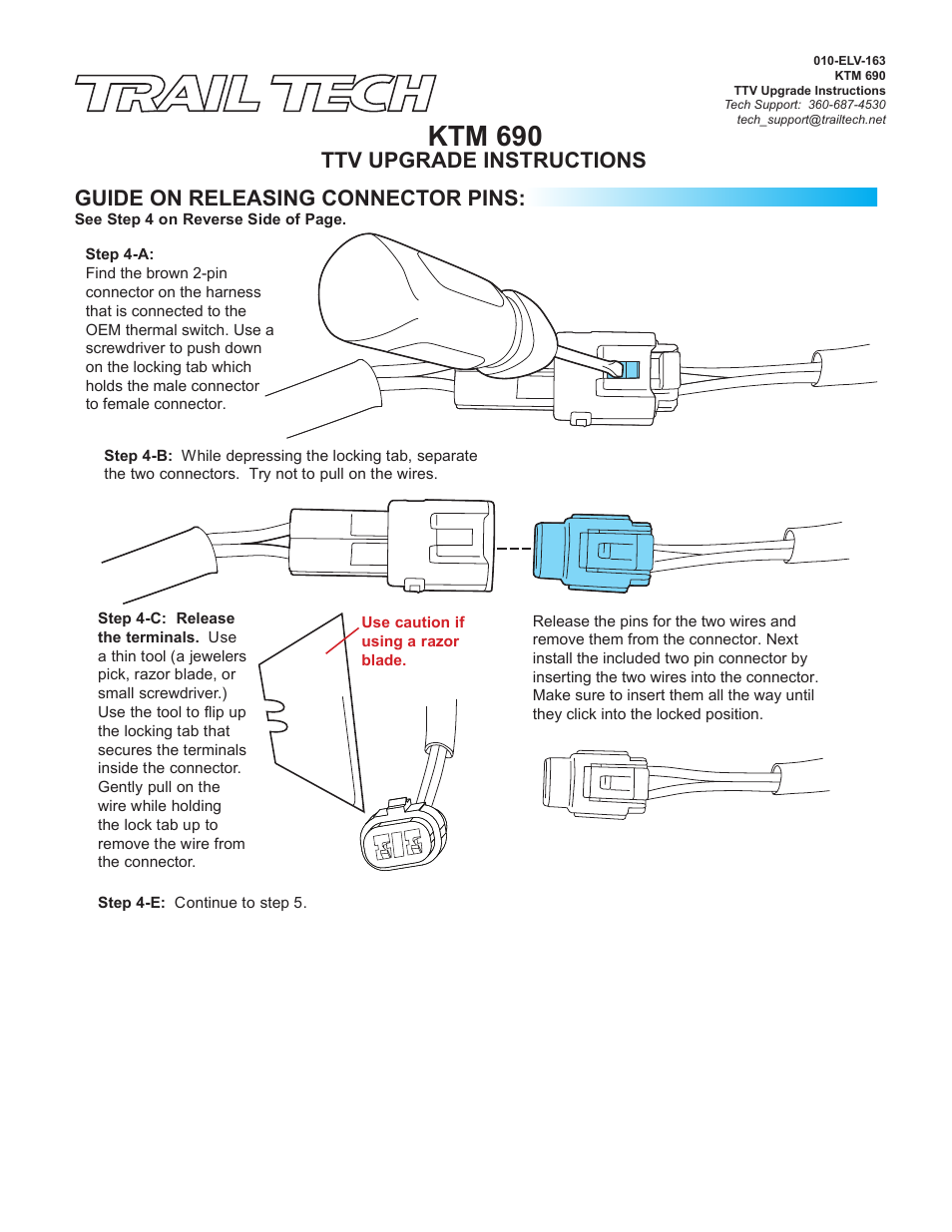 Ktm 690 Trail Tech Ttv Switching Temperature Meter 732 S02 B Wiring Diagram Push Pull User Manual Page 3 5