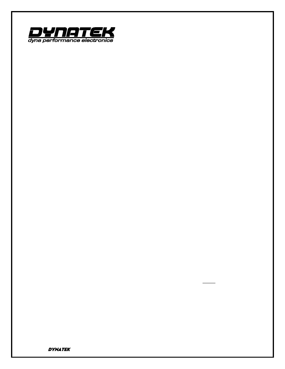 Two Brothers Racing Dyna Fs Ignition 1999 2004 Honda Trx400ex User 400ex Wiring Diagram Manual 2 Pages