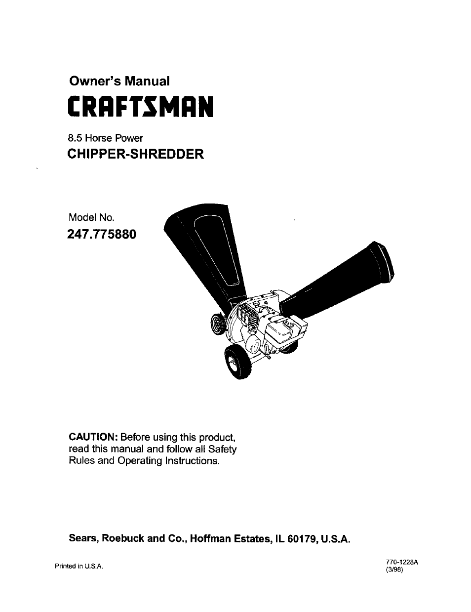 craftsman 247 775880 user manual 26 pages rh manualsdir com Sony A6000 User Manual Sony User Manual Guide