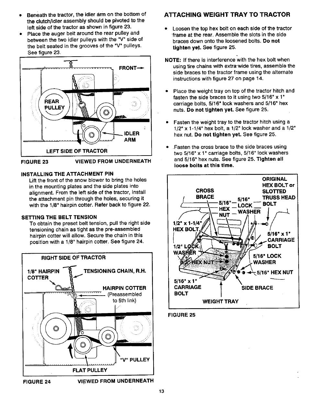 Craftsman 486 248400 User Manual | Page 13 / 24