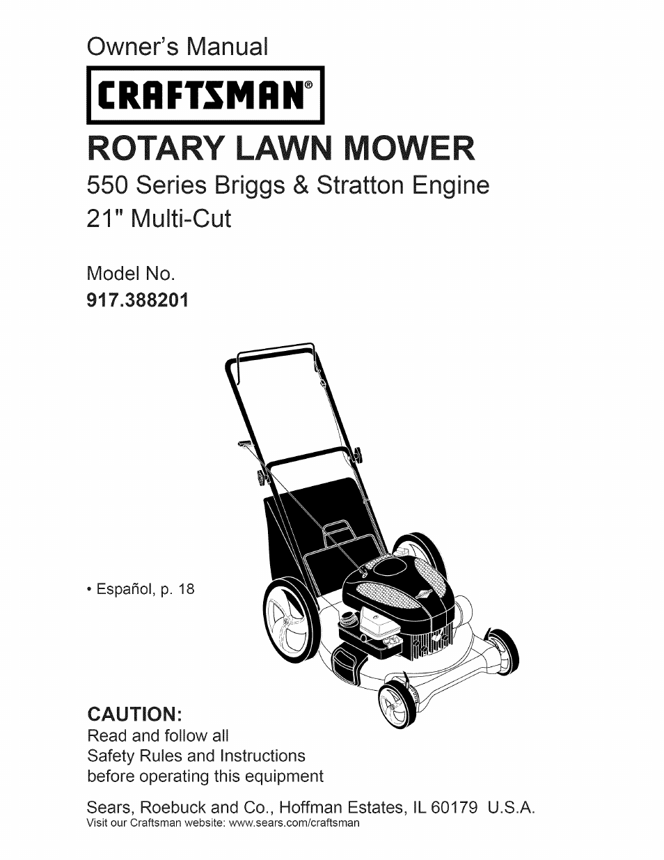 craftsman 917 388201 user manual 44 pages rh manualsdir com craftsman  briggs and stratton 550 series manual craftsman lawn edger/trencher 550 ...