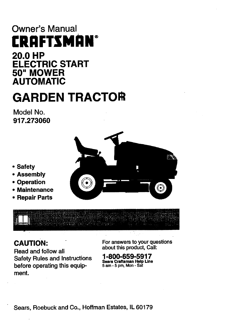 Craftsman garden tractor 917276020 owners manual oukasfo 2010 craftsman gt 5000 owners manual pdf download fandeluxe Image collections