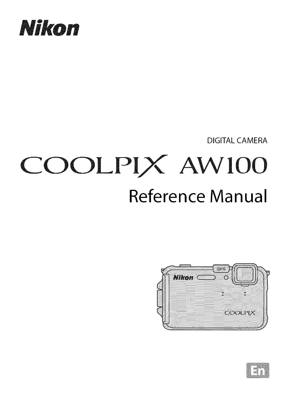 Nikon coolpix aw120 | compact rugged digital camera w/ wifi.