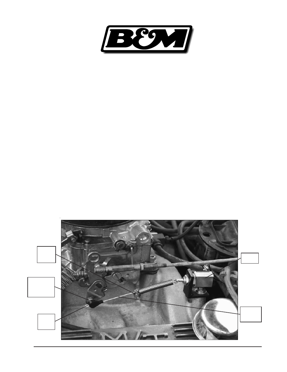 B&M 20297 KICKDOWN SWITCH KIT User Manual | 1 page