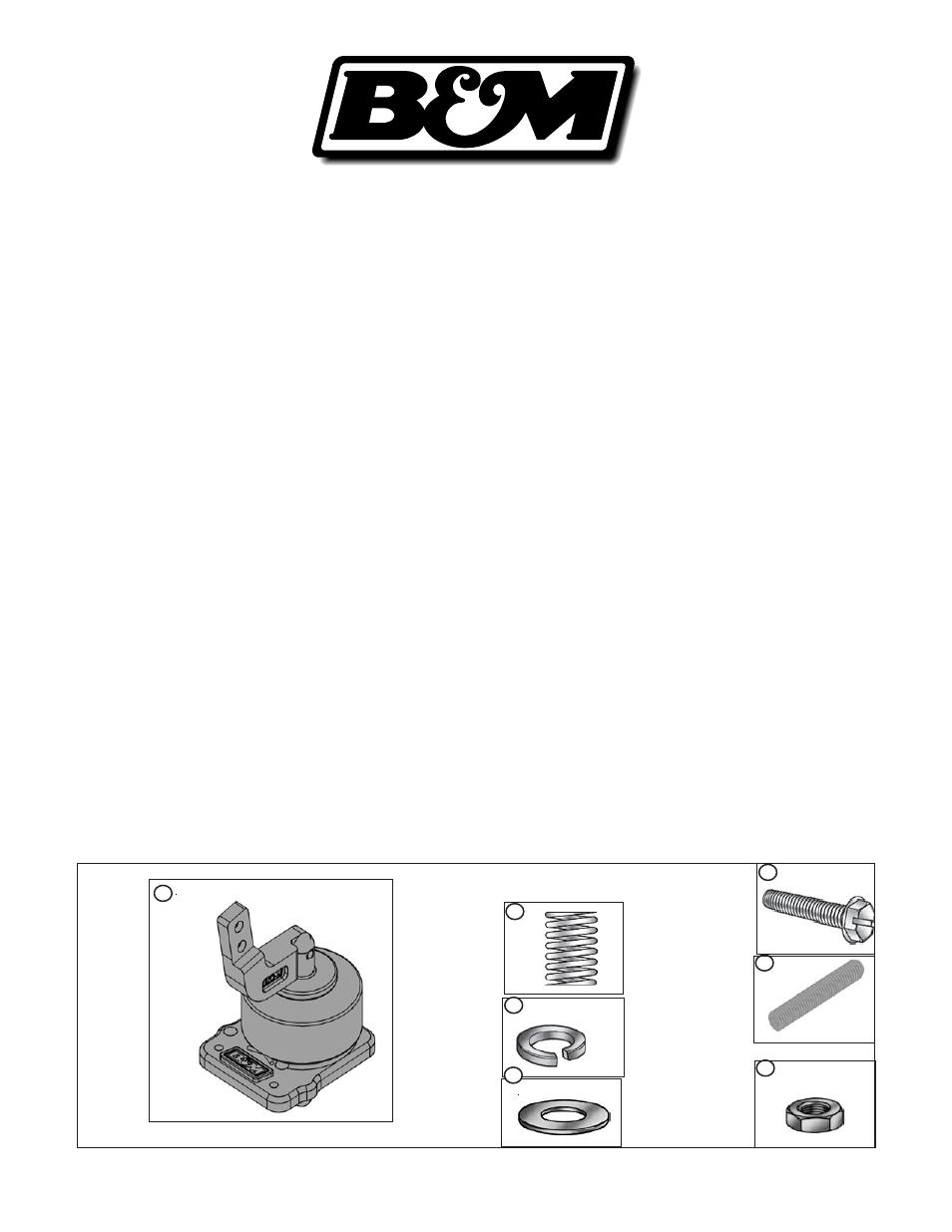 Bm 45043 Precision Sport Shifter O4 Gto User Manual 10 Pages