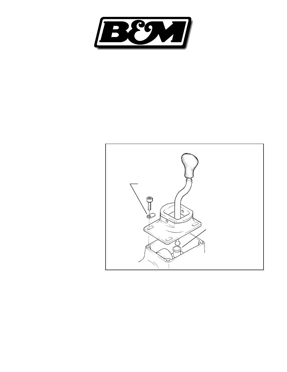 Bm 45050 Precision Sport Shifter Must Wt5 T45 User Manual 2