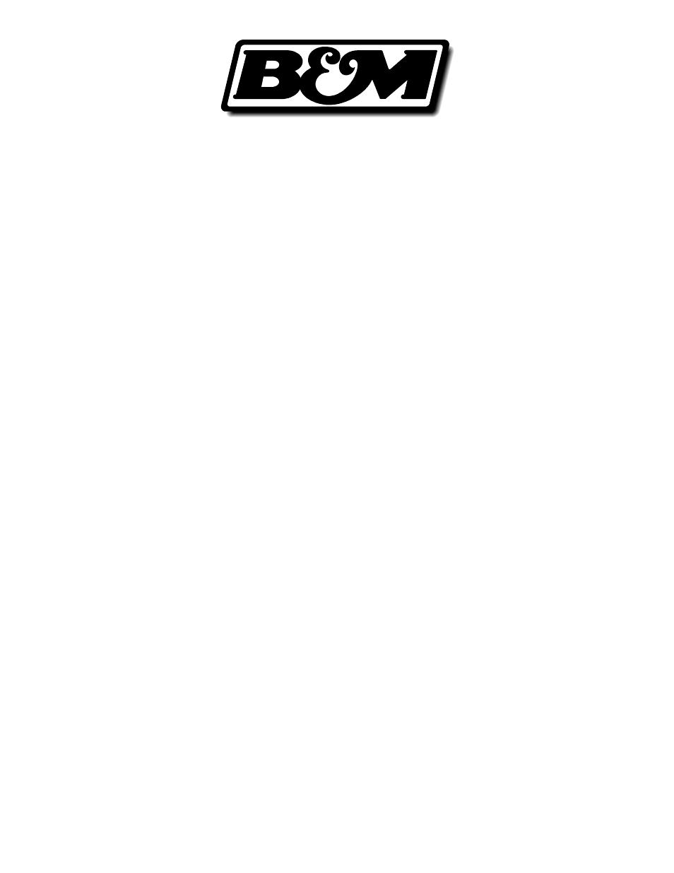 Bm 45126 Precision Sport Shifter Bmw E36 E46 User Manual 4 Pages