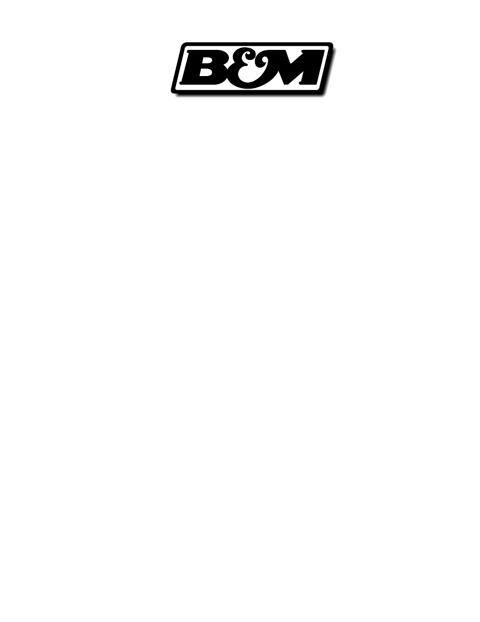 b&m pro stick instructions