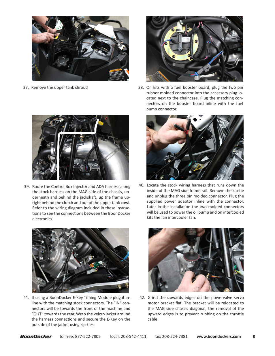 Boondocker Arctic Cat 2012 14 Proclimb M8 Intercooled User Manual 3 Pin Wiring Diagram Page 8 17