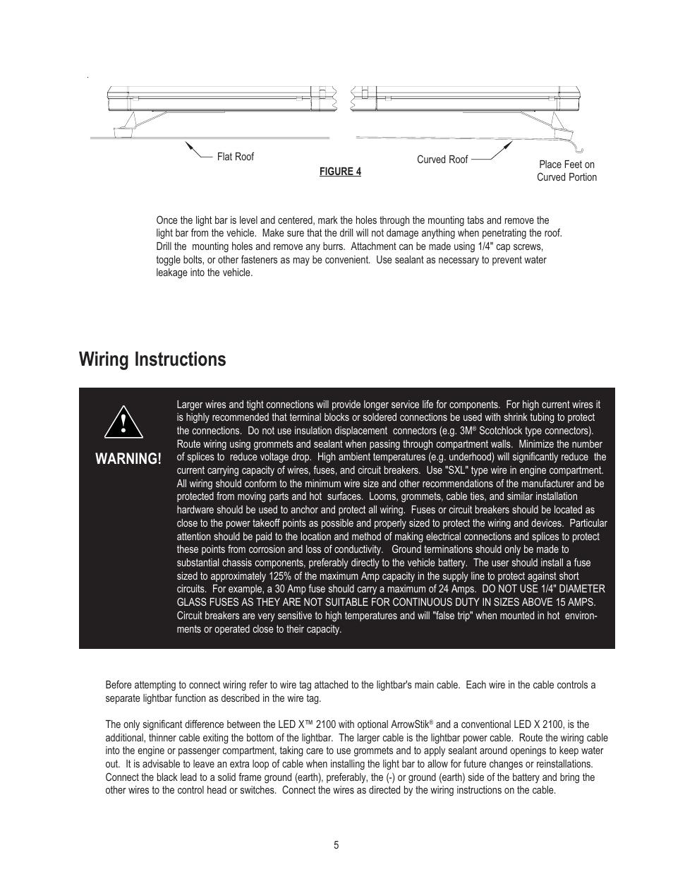 wiring instructions warning code 3 2100 user manual. Black Bedroom Furniture Sets. Home Design Ideas