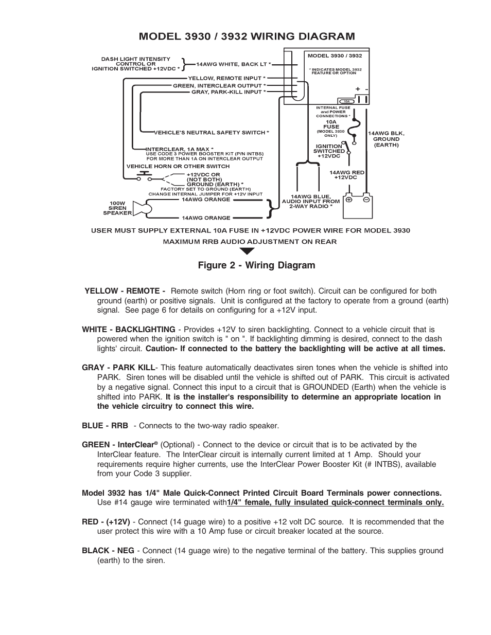 Code 3 Scorpion Siren User Manual | Page 5 / 16 | Also for: Compact ...