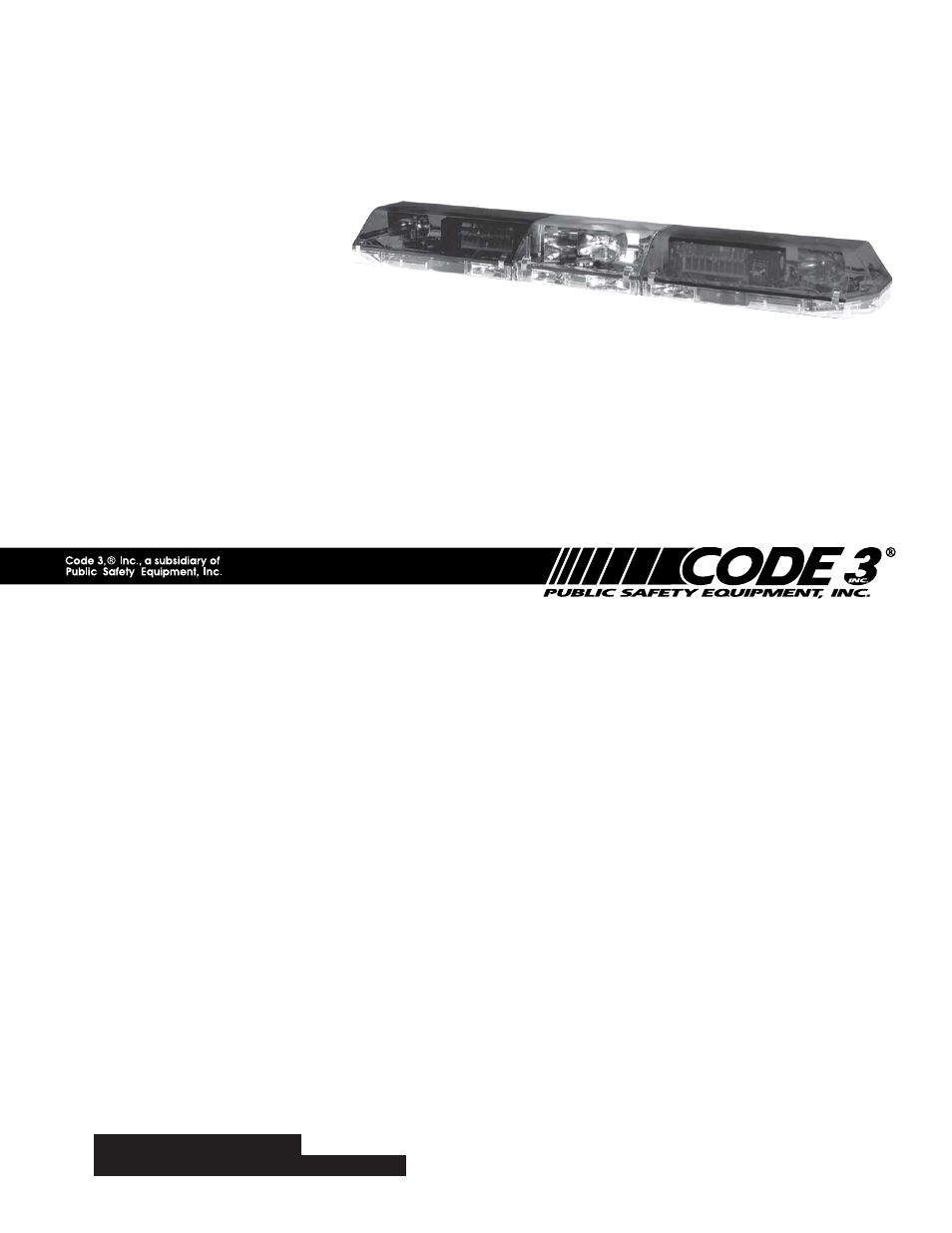 34 Code 3 2100 Lightbar Wiring Diagram