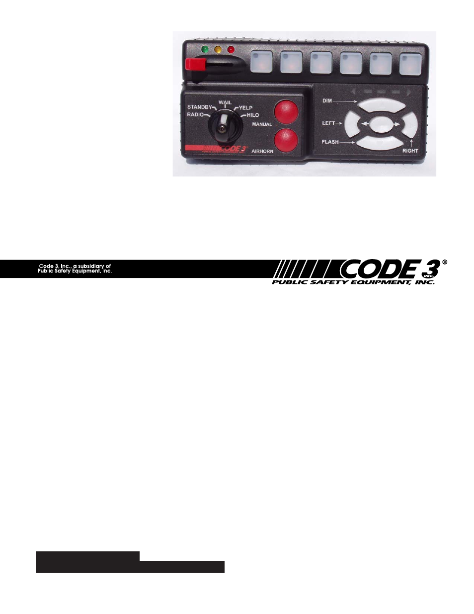 Code 3 RLS User Manual   28 pages