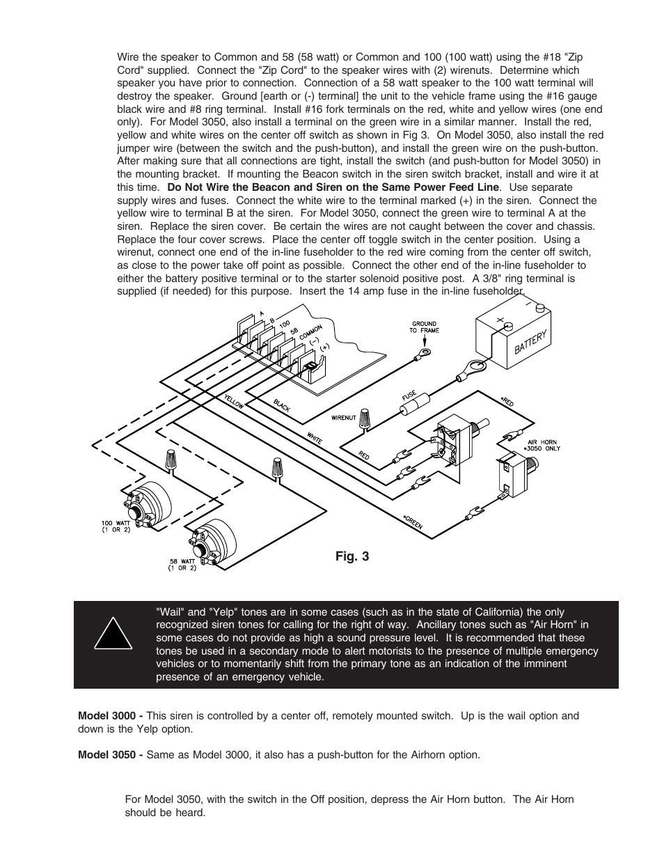 Code 3 2100 Lightbar Wiring Diagram from www.manualsdir.com