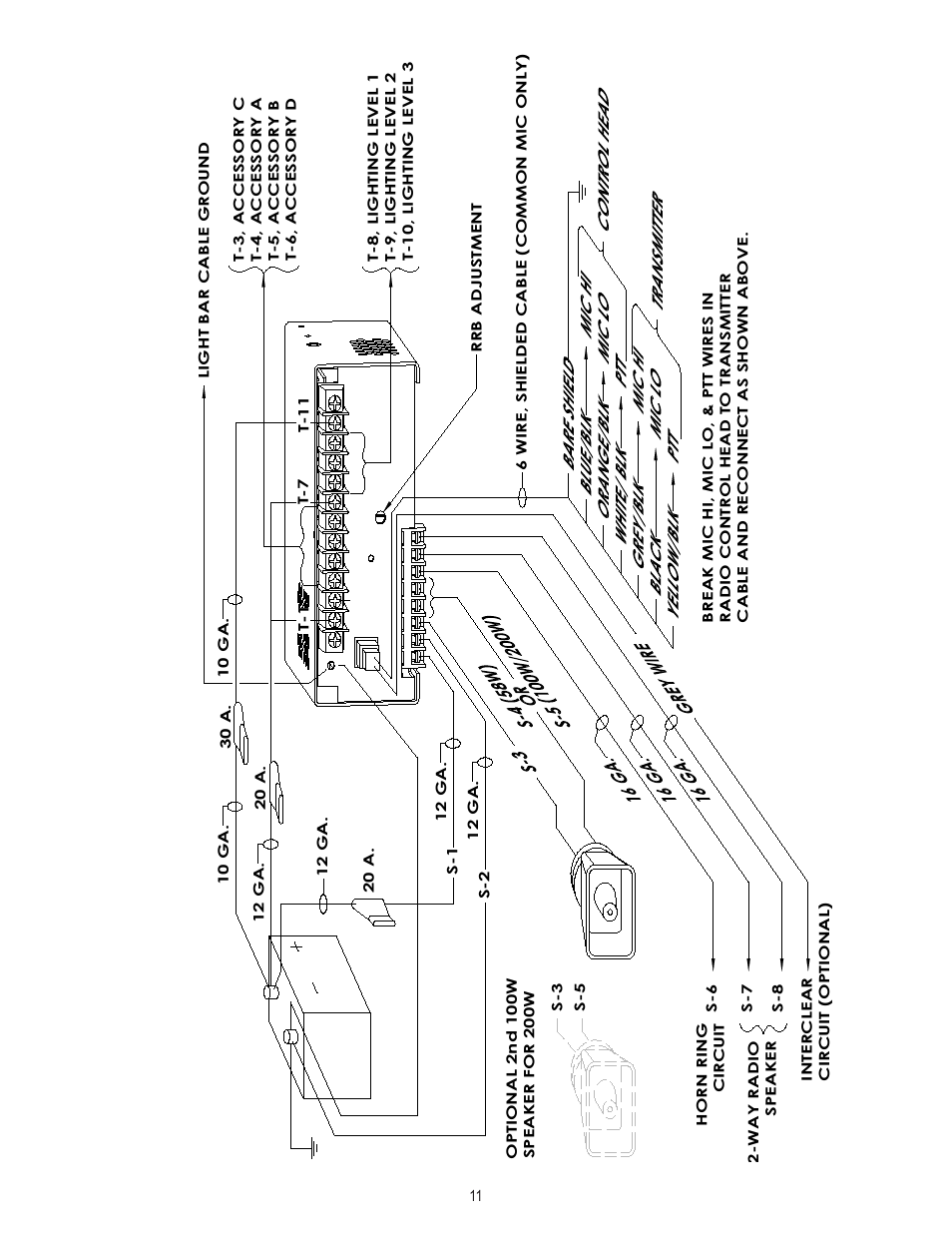 33 Code 3 Mx7000 Wiring Diagram