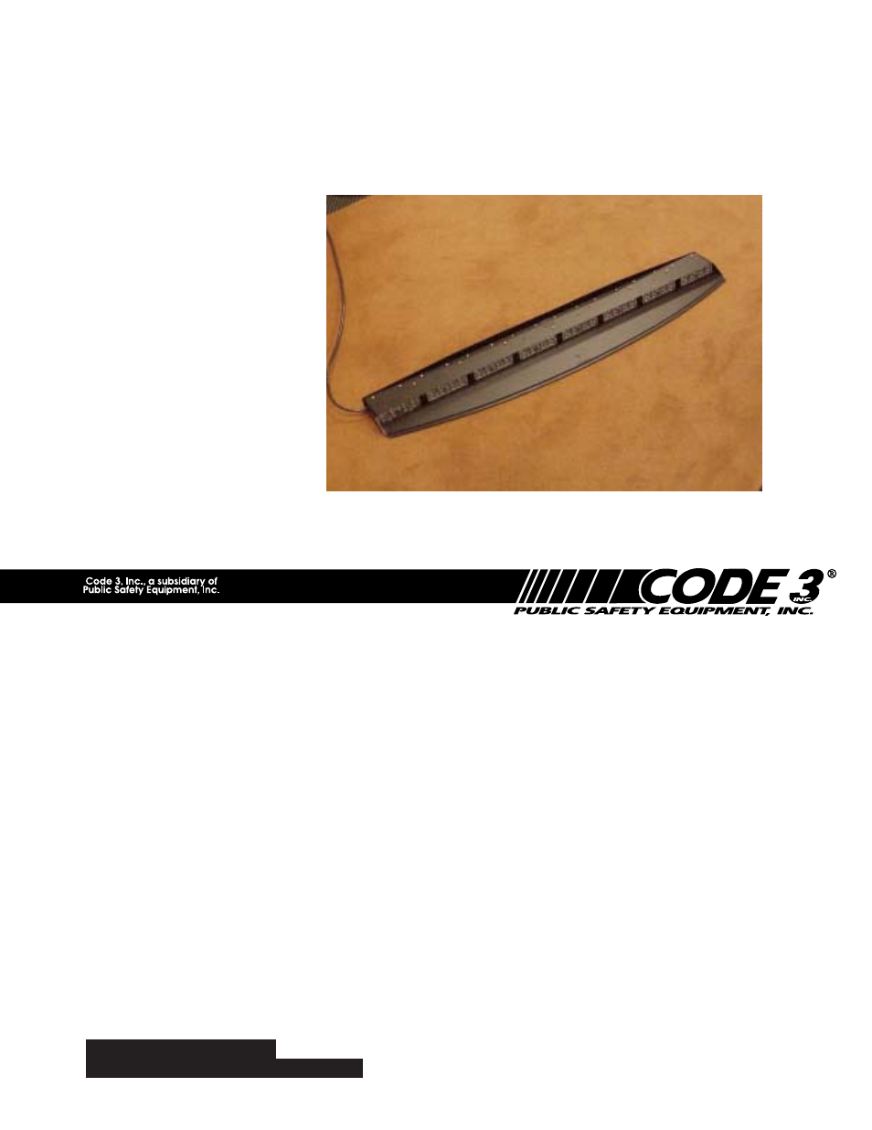Code 3 Wingman Wiring Diagram Library Of Lighting System For Crown Victoria User Manual 12 Pages
