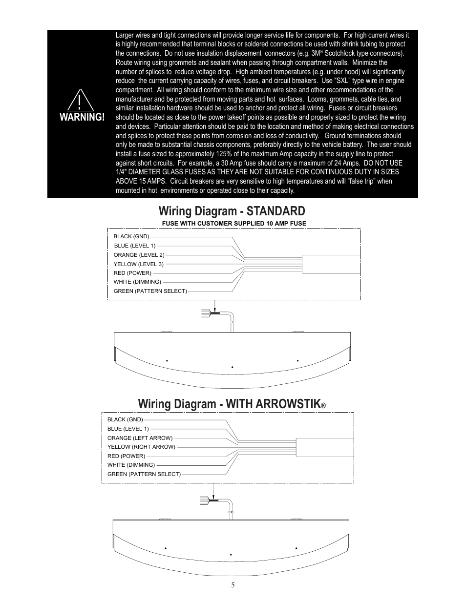 Code 3 Wingman Wiring Diagram Archive Of Automotive Tc Standard With Arrowstik Warning Rh Manualsdir Com