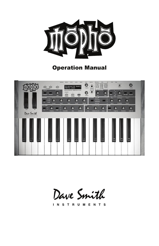 dave smith instruments mopho keyboard user manual 68 pages rh manualsdir com dsi tetra manual pdf dave smith mopho desktop manual