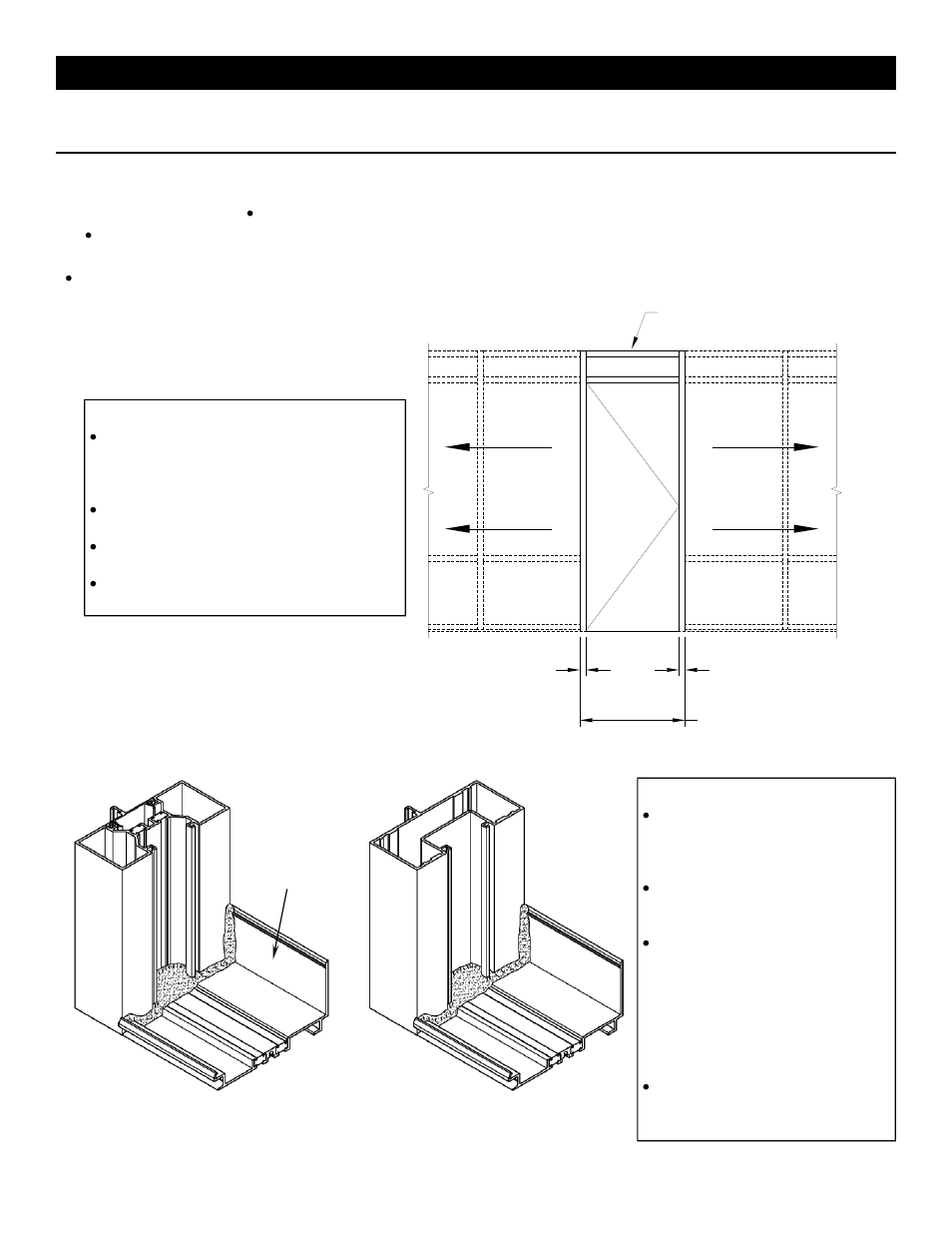 Series 403x storefront installation instructions | EFCO 403X Series User Manual | Page 19 / 29