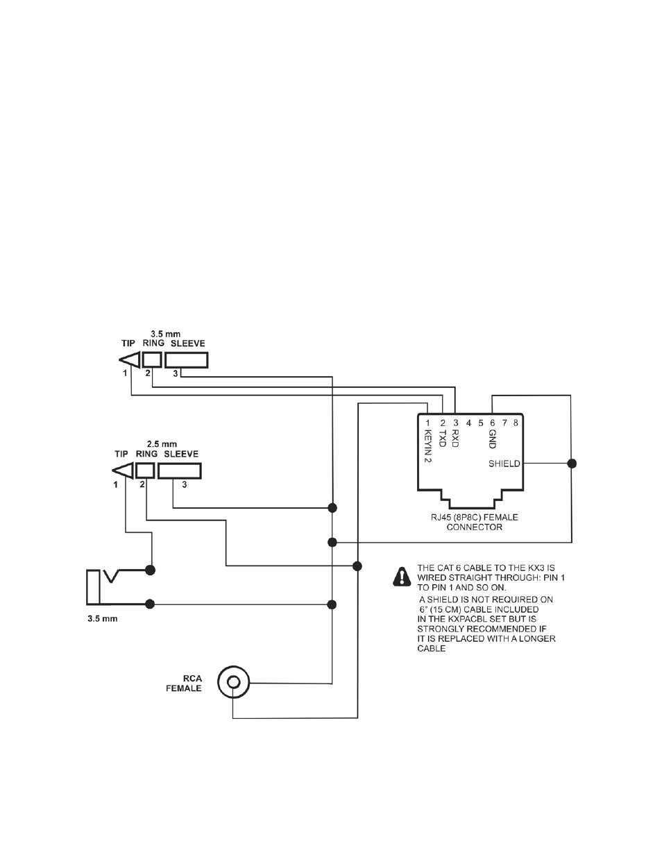 Cable schematics | Elecraft KXPA100 Manual User Manual ... on