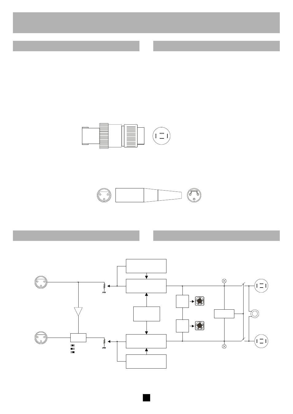 Italiano English Ch2 Ch1 Speakon Fbt Symbol 18000 User Manual Wire Schematic Pg Amp E Symbols Page 9 24