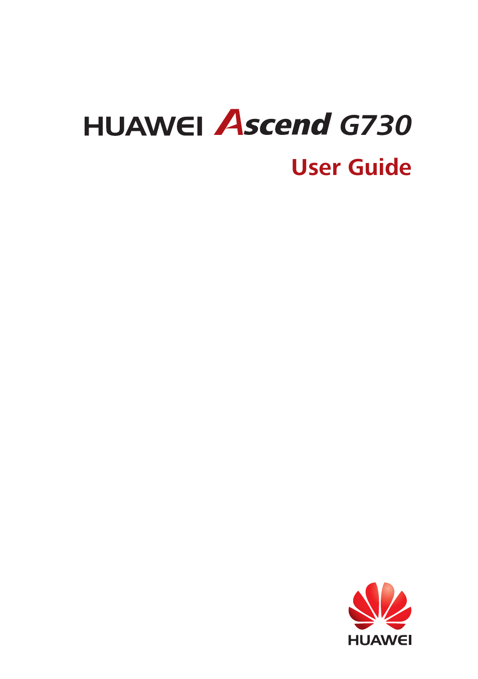 Huawei Ascend G730-U10 User Manual