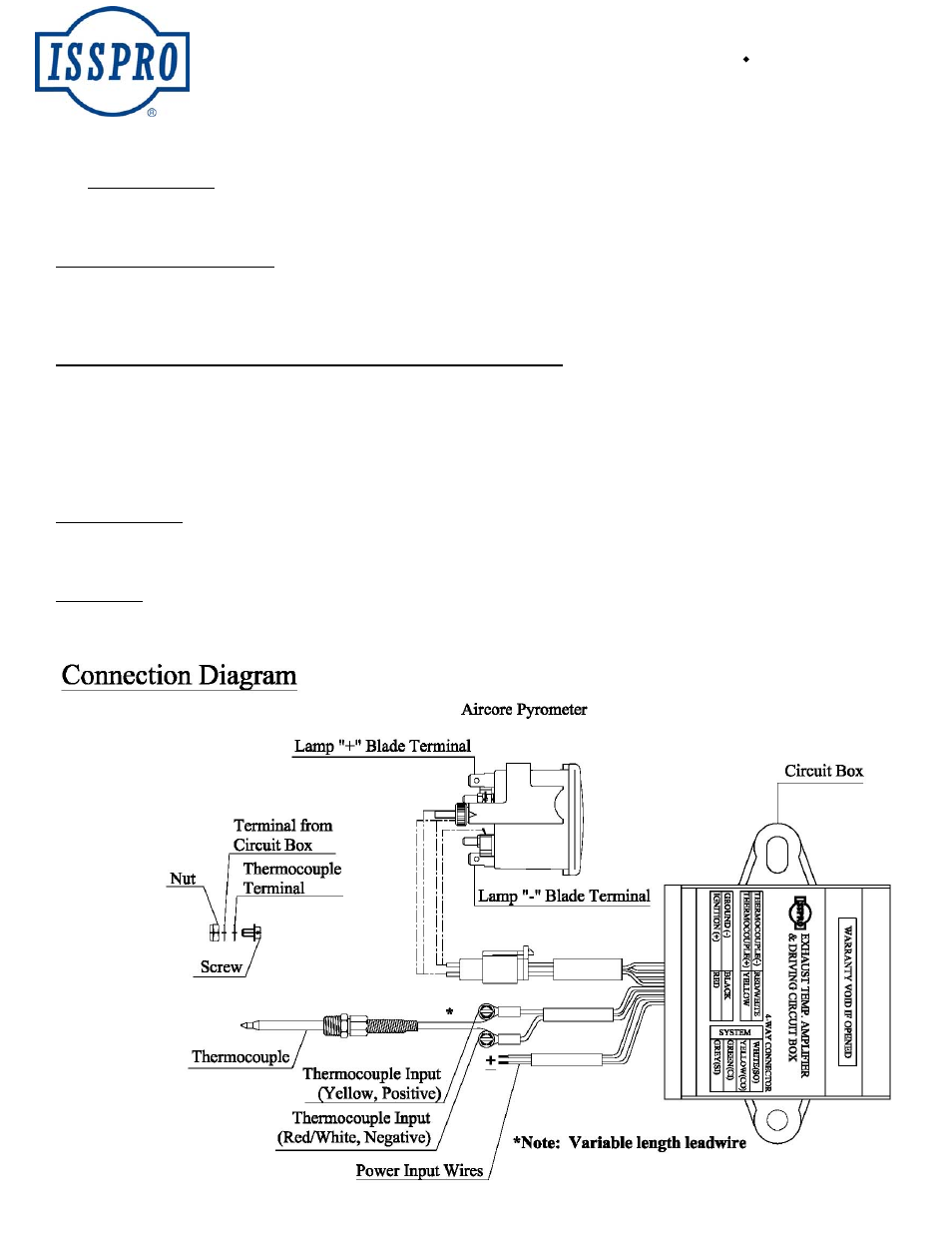 Isspro R3707g User Manual 1 Page Also For R3707 R3607vw Box In Red Wire Single Pole Switch Wiring Diagram R3607t R3607g R3607