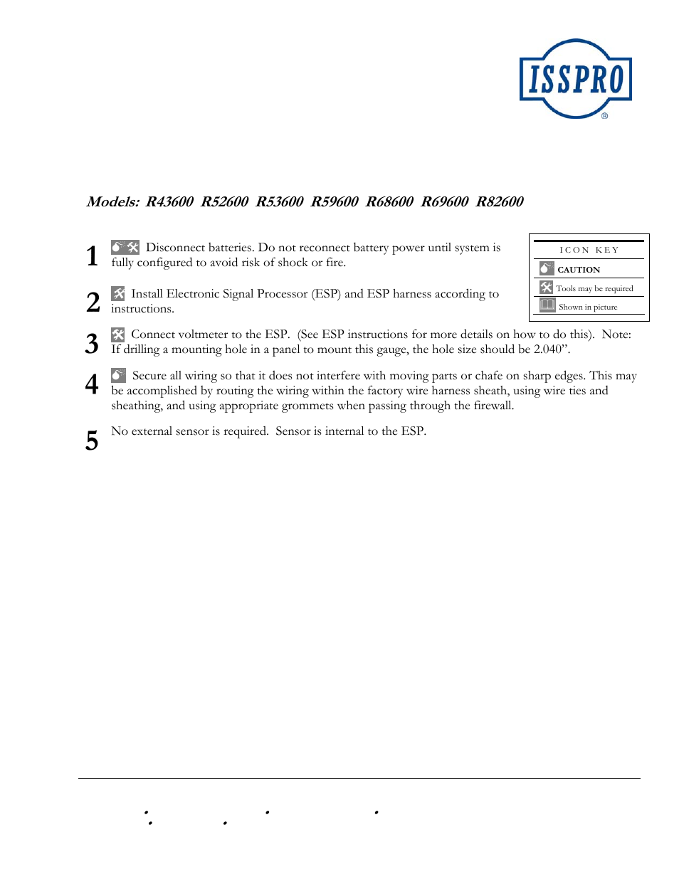 ISSPRO R82600 User Manual | 1 page | Also for: R53600 ... on