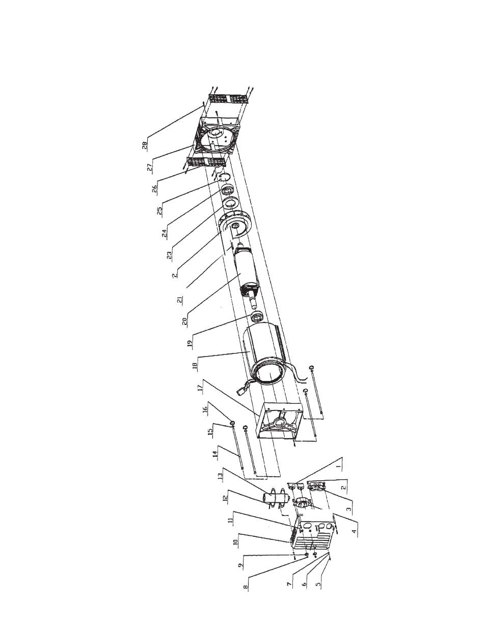 assembly drawing | chicago electric chicago power tools 10kw generator  45416 user manual | page 10 / 11