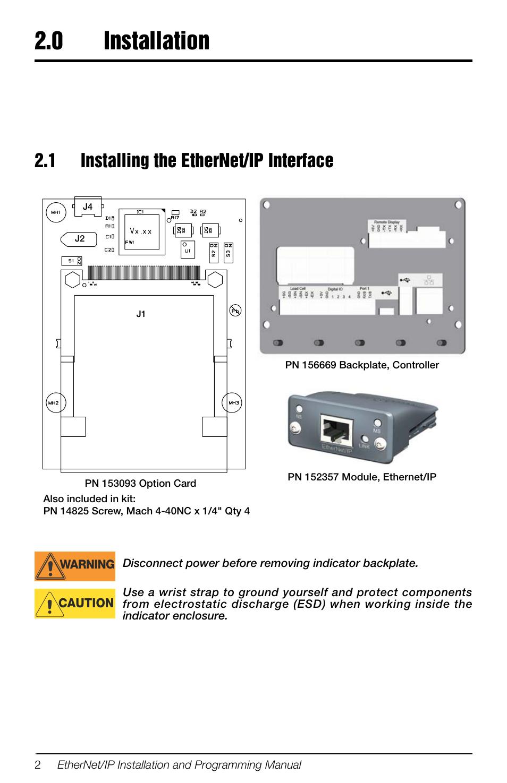 Ethernet Ip Programming
