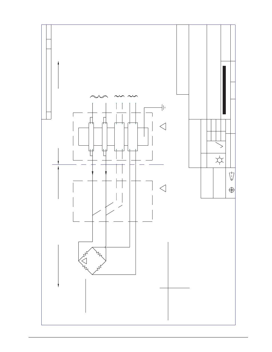 Wiring diagram load cells in hazardous areas | Rice Lake Load Cells - Wiring  for Hazardous Environments User Manual | Page 40 / 45 | Original modeManuals Directory