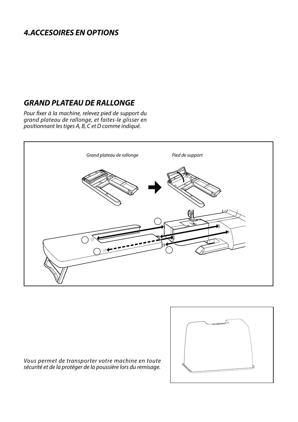 Accesorios De ExtensionOption Accessories Large Base Opción EDYIWH92