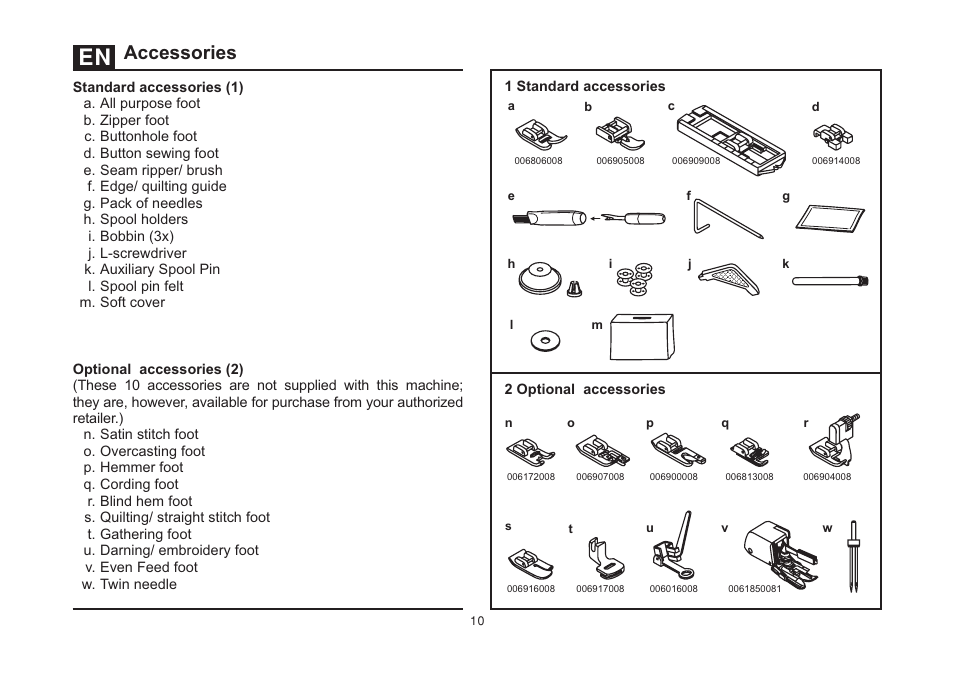 Accessory Kit Singer 4411 Heavy Duty Manual Guide