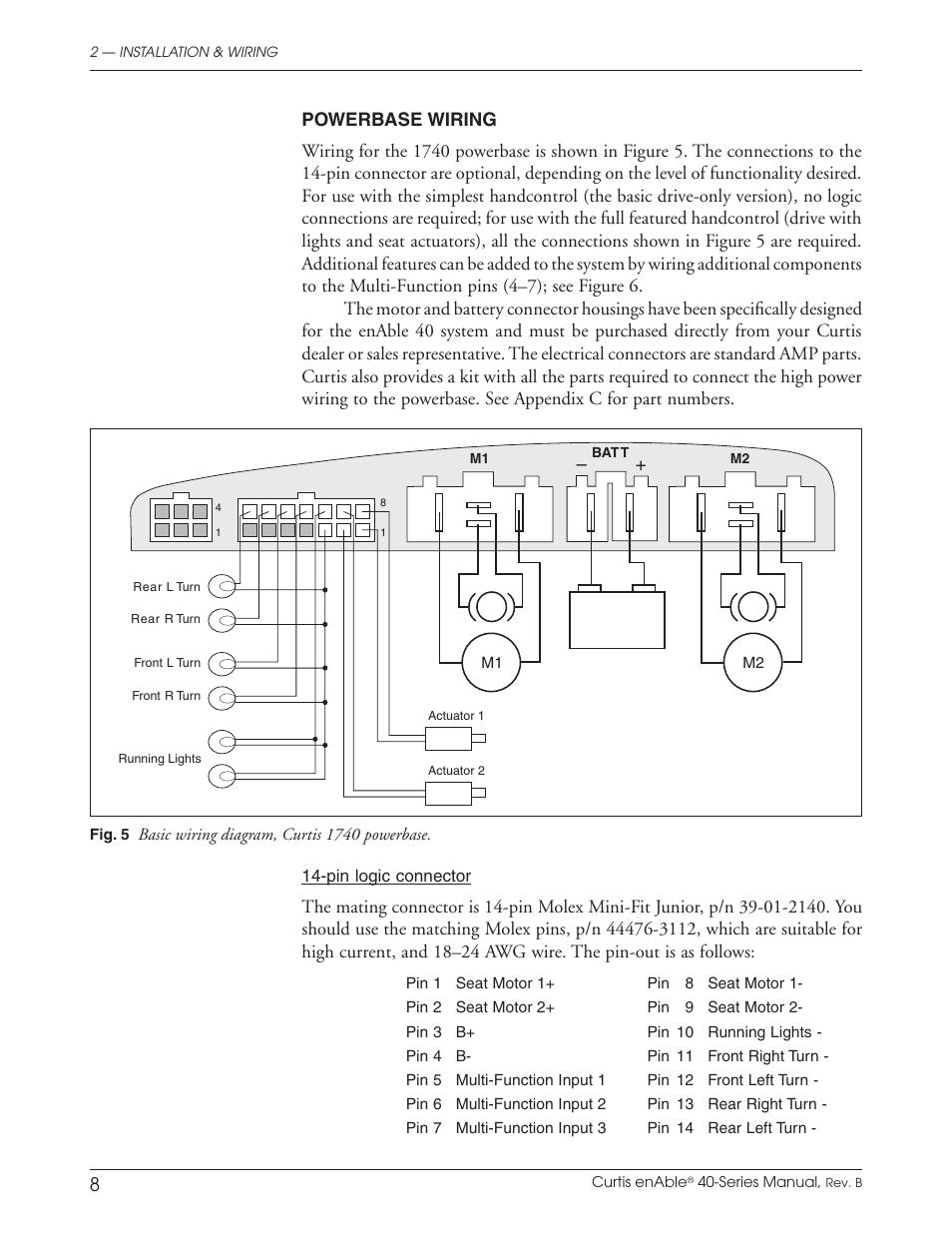 Curtis Enable 40 User Manual Page 14 66 Original Mode Wiring Diagram