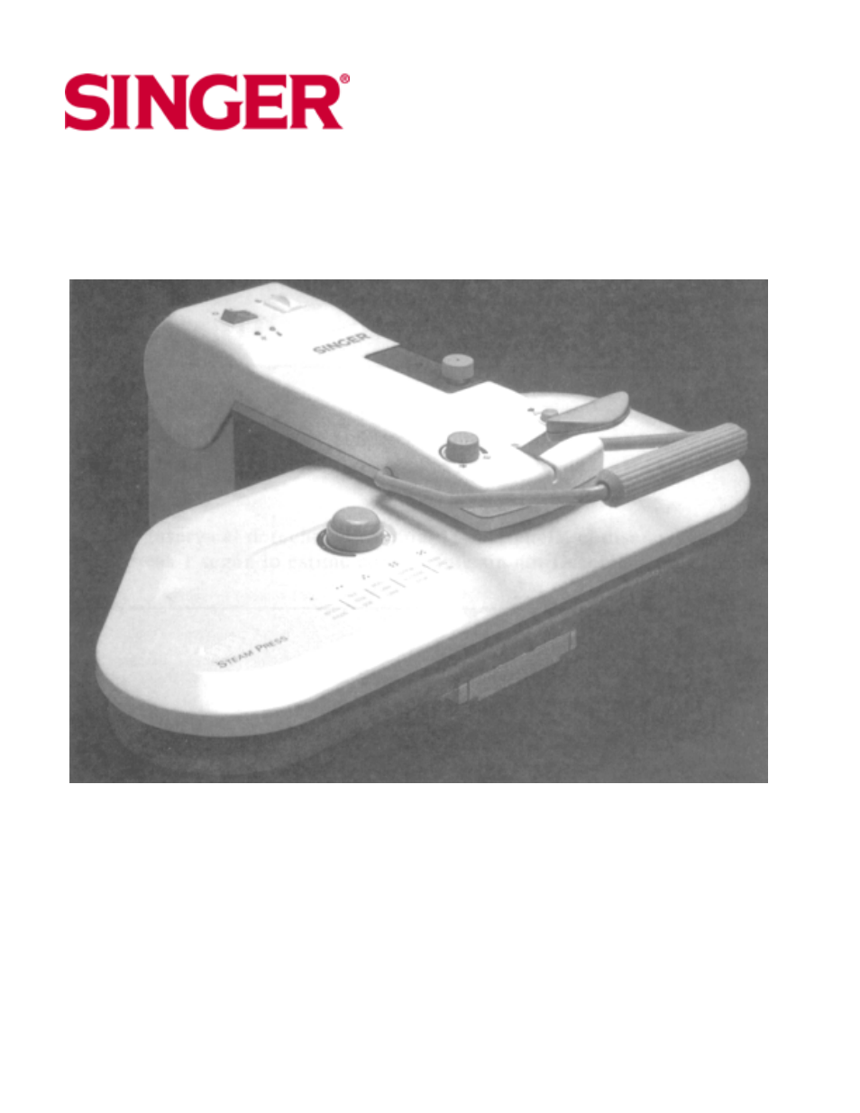 singer magic steam press csp 1 instruction manual