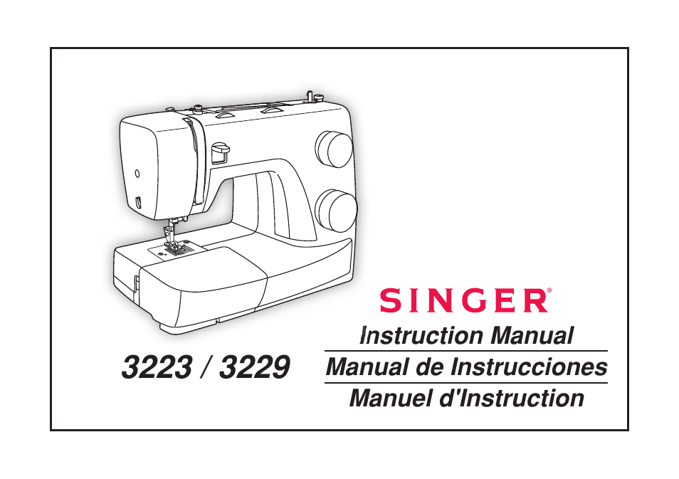 SINGER 40 SIMPLE User Manual 40 Pages Also For 40 SIMPLE Stunning Manual For Singer Simple Sewing Machine