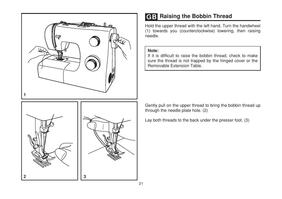 Raising The Bobbin Thread SINGER 40 SIMPLE Instruction Manual Adorable Singer Simple Sewing Machine Manual 2263