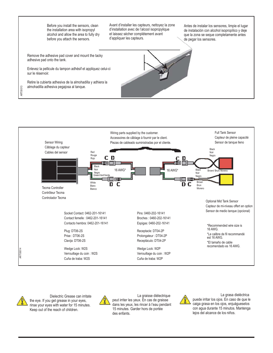 Thetford tecma easy fit user manual | page 9 / 28 | original mode.