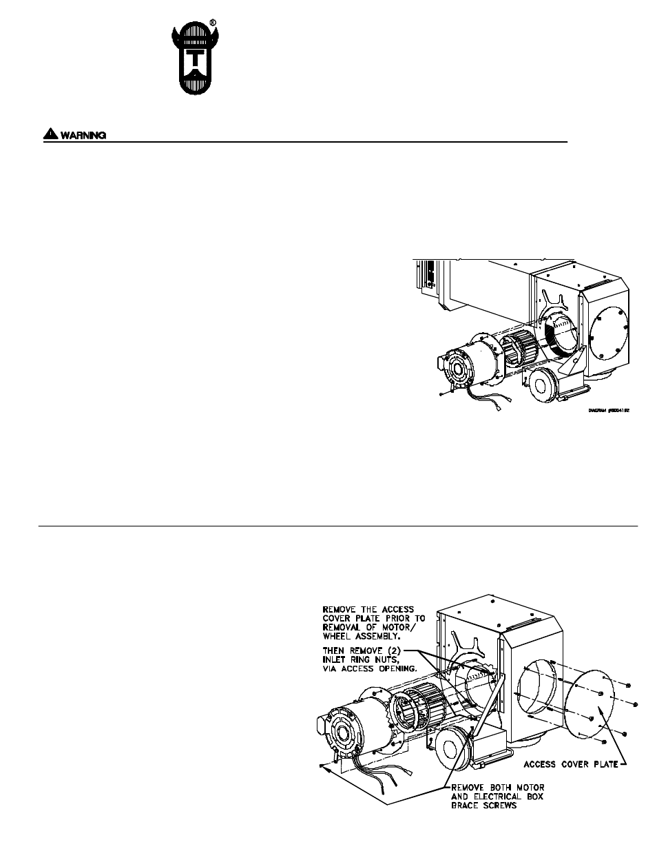 Tjernlund 950 0625 Ss1 Motor Kit 8504016 Rev A 11 99 User Manual Lead Wiring Diagram 2 Pages