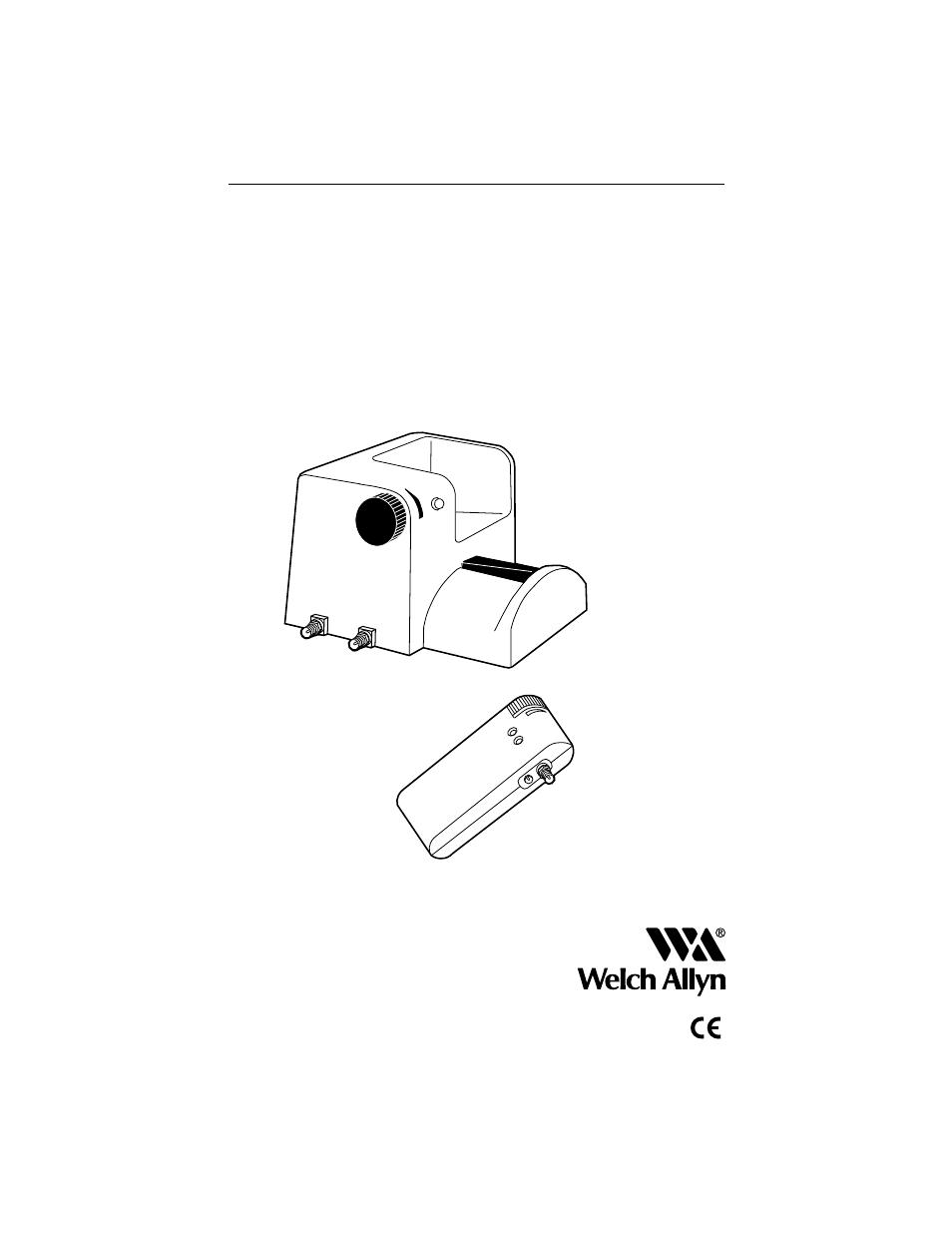 Welch Allyn 12500 Binocular Indirect Ophthalmoscope Power Source