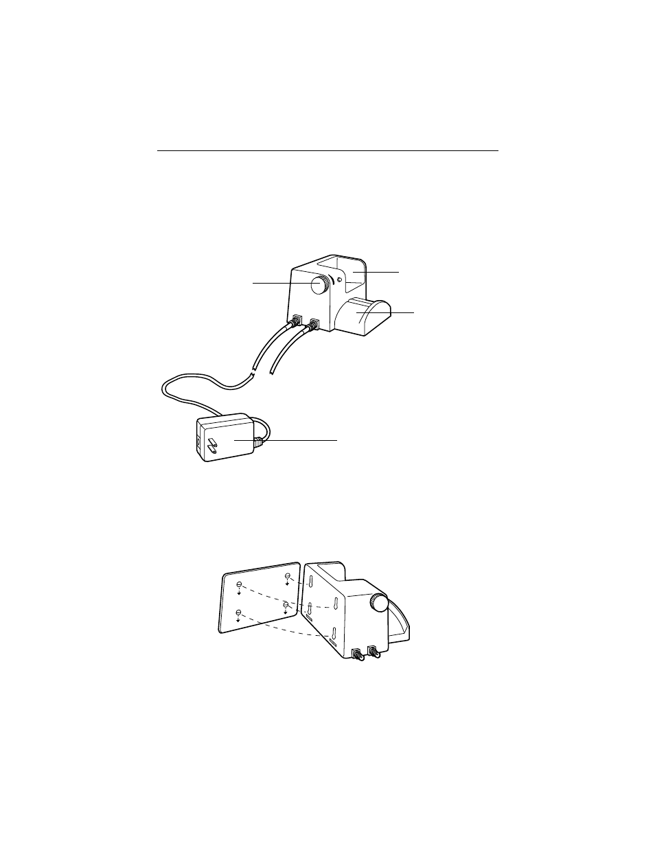 Wall Desk Power Source Features Mounting Welch Allyn 12500 Auto Off Binocular Indirect