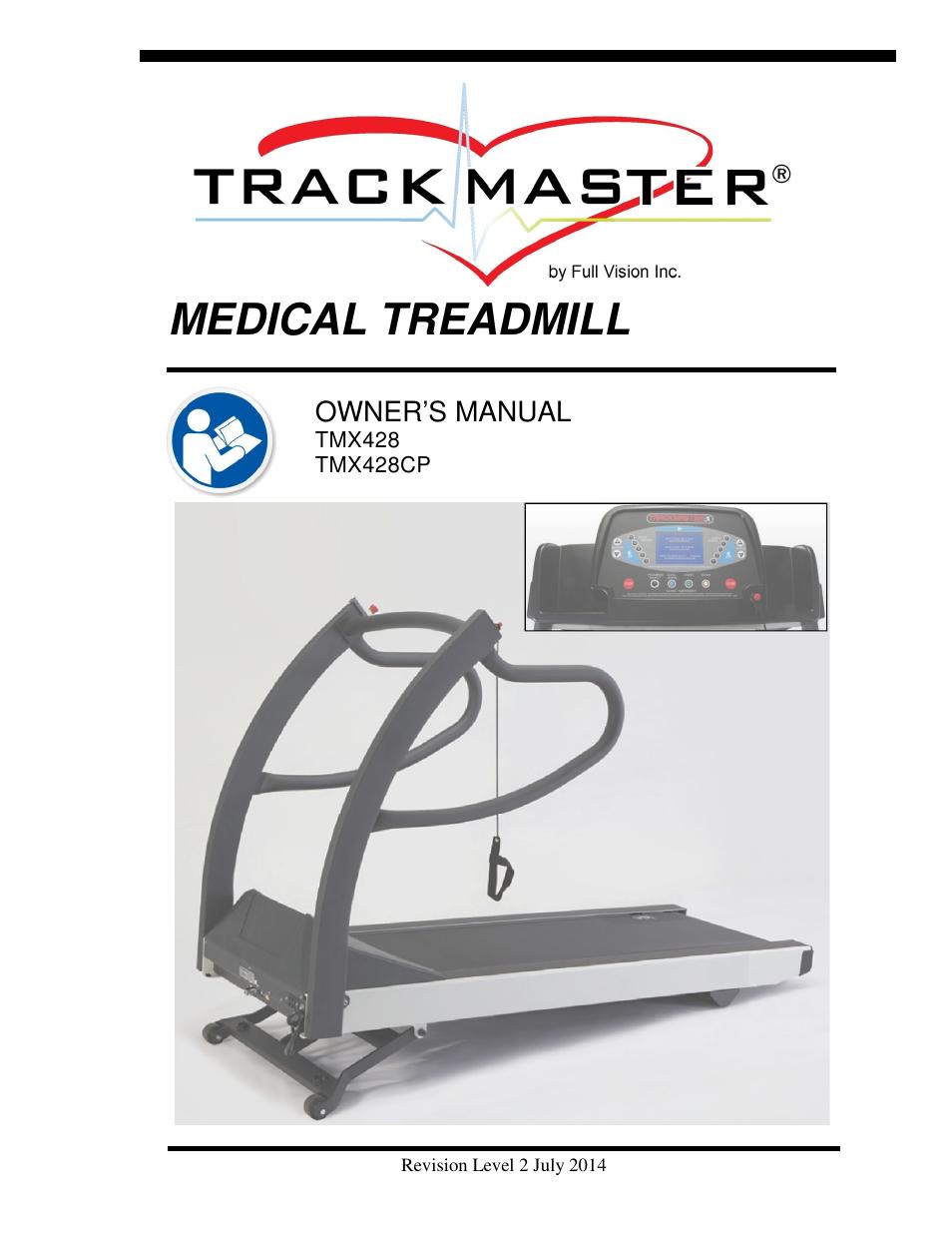 Sportcraft tx4. 9 treadmill owners manual.