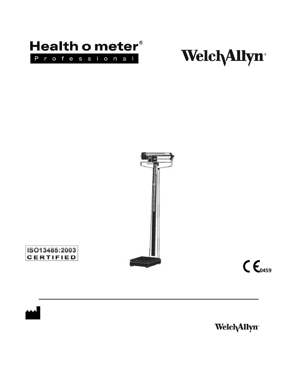 Welch Allyn 402klwa Health O Meter Professional Physicians Beam
