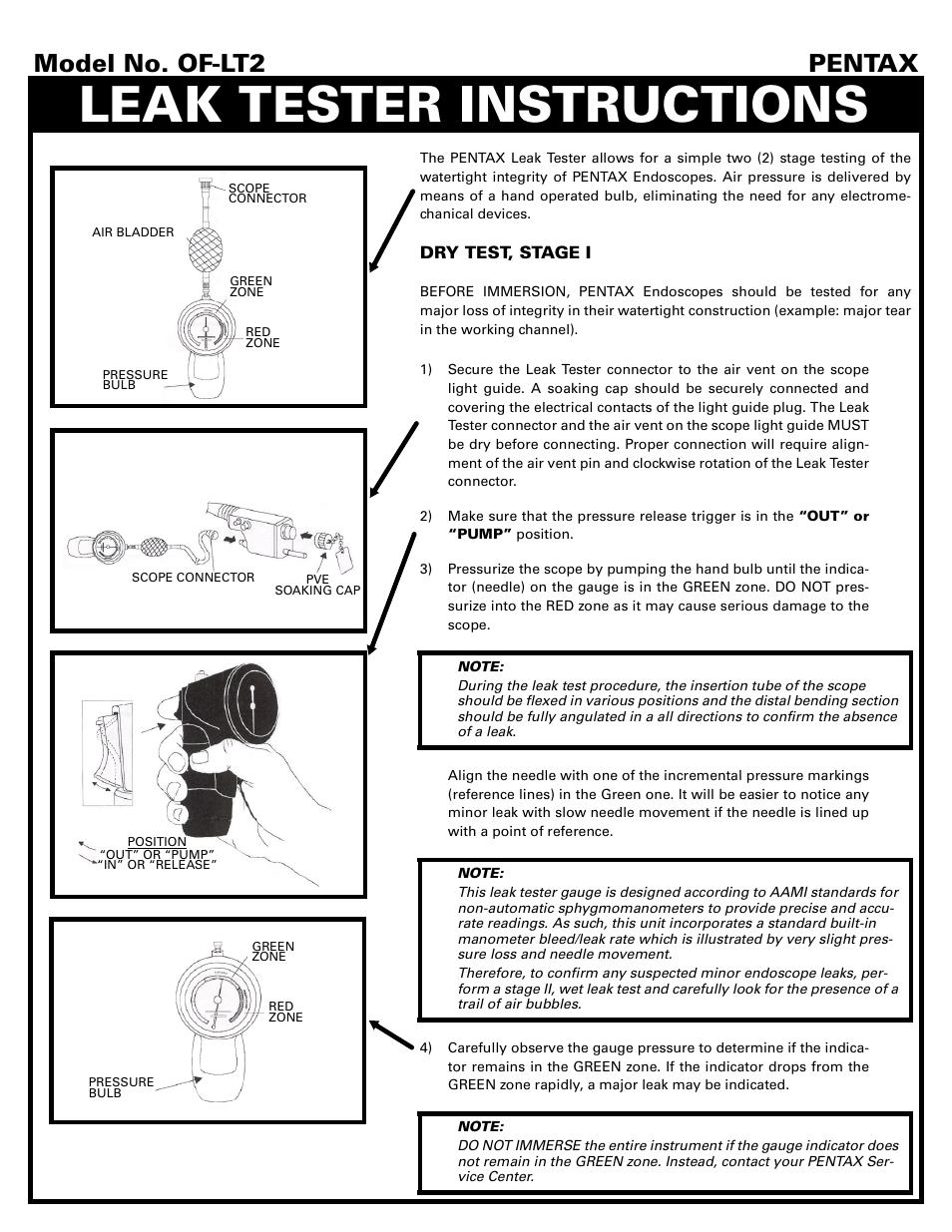Air Leak Manual Guide